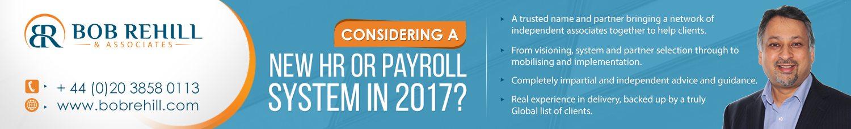 Bob Rehill – New HR or Payroll System 2017