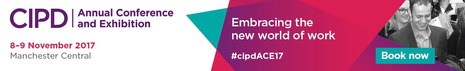 CIPD – November Annual Conference & Exhibition – September 2017
