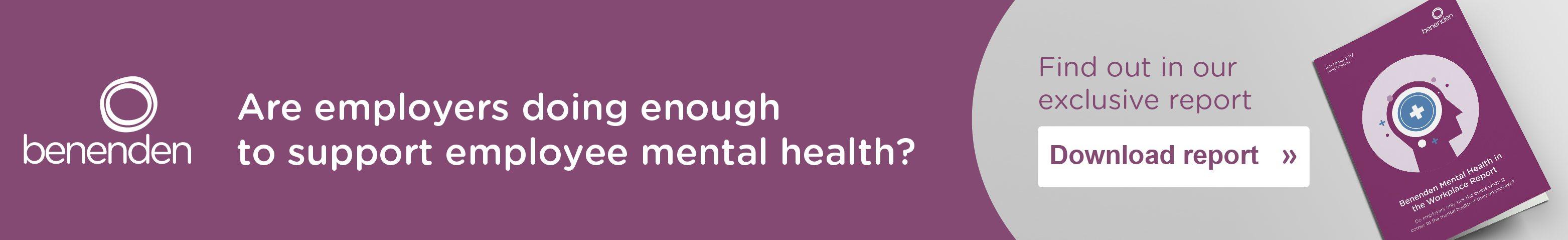 Benenden – Mental Health – January 2018